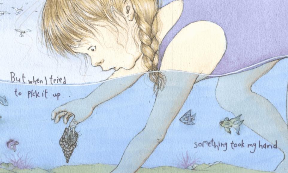 A Mermaid On My Hand