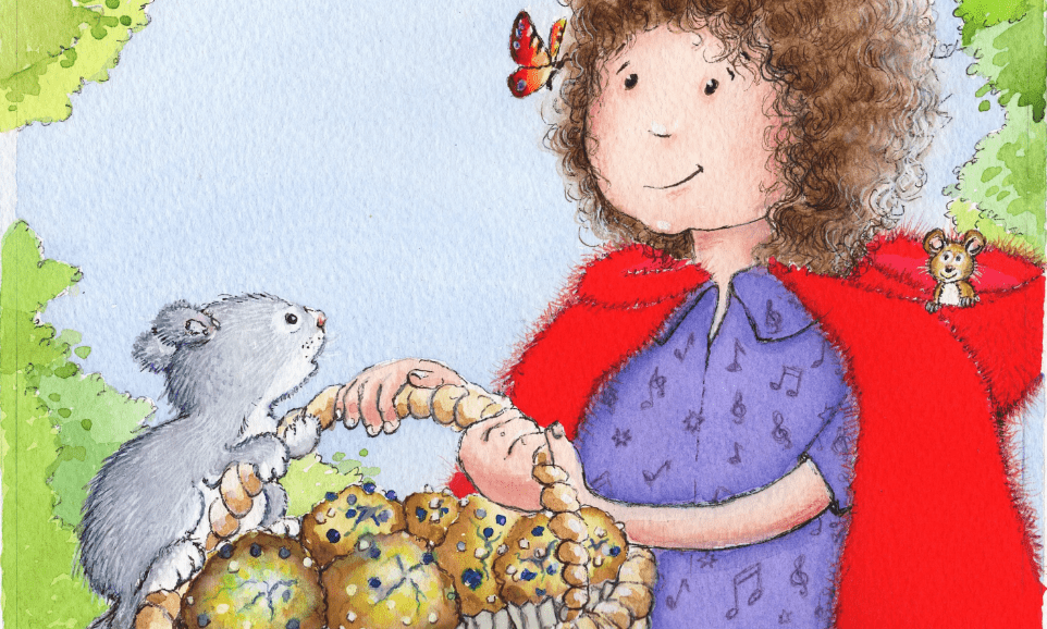 Little Red Ridinghood and the Blueberry Muffins